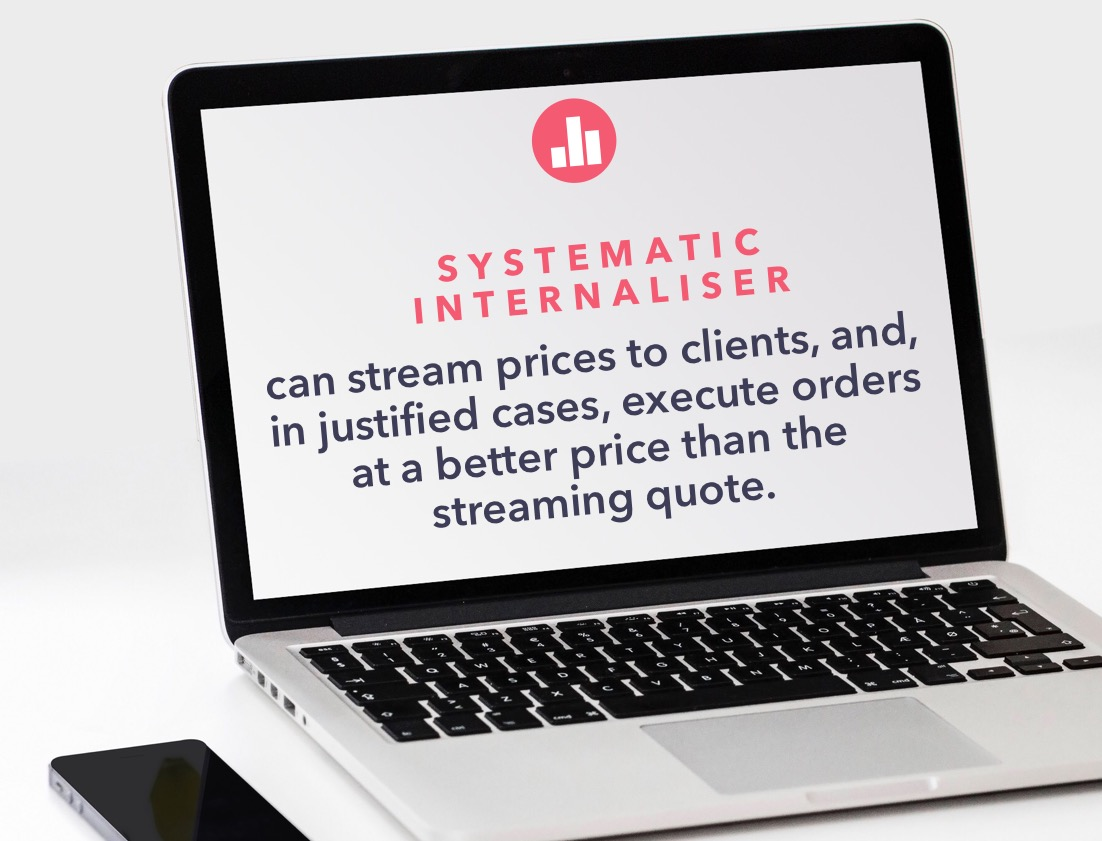 Systematic internaliser can stream prices to clients